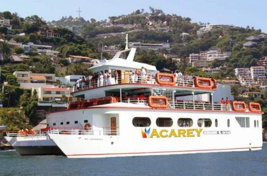 Acapulco Acarey Yacht Cruise Open Bar...