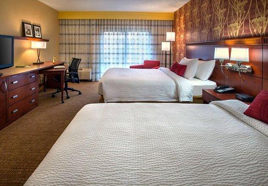 Wayne, Pensilvanya: Queen/Queen Guest Room