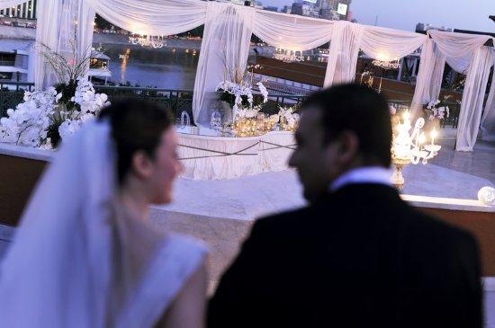 Cairo Marriott Hotel & Omar Khayyam Casino: Almaz Wedding Horizontal Wedding With Bridegroom
