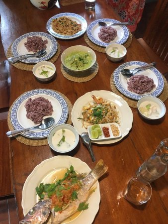 Mina's Cooking Classes: Excepcional thai food!