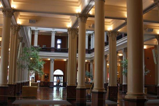 Landmark Center: Main floor.
