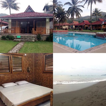 Ocean Queen Resort: Traditional Bungalow with pool & garden view