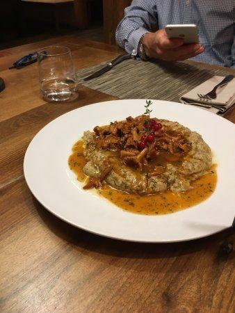Restaurant The Piz: Polenta mit Eierschwämmli