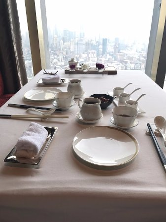 The Ritz-Carlton Shanghai, Pudong : At the Jin Xuan Chinese Restaurant