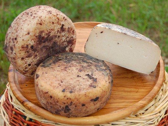 Monteroni d'Arbia, Italia: pecorino affinato nelle vinacce
