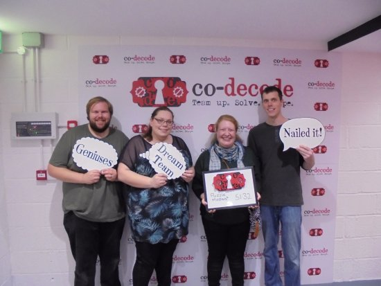 ‪‪Swindon‬, UK: Our August competition winners, who loved their game!‬