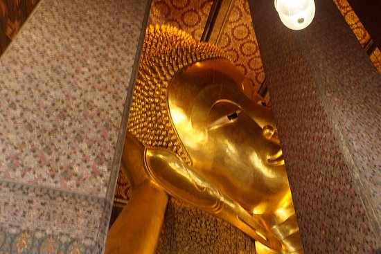 Temple of the Reclining Buddha (Wat Pho) The giant sleeping Buddha statue. & The giant sleeping Buddha statue. - Picture of Temple of the ... islam-shia.org