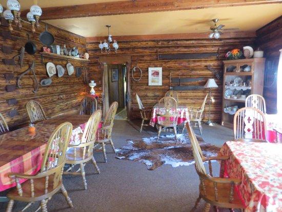 Chilcotin Lodge: Der Speisesaal