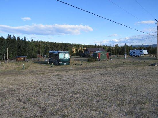 Chilcotin Lodge: Der PV Park - auch mit dem Motorhome, kann man hier zu Gast sein.