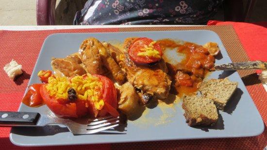 Brantes, ฝรั่งเศส: un autre plat succulent