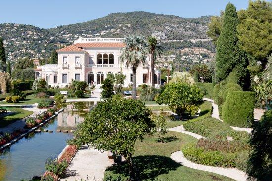 Villa ephrussi de rothschild picture of villa jardins ephrussi de rothschild st jean cap - Jardins ephrussi de rothschild ...