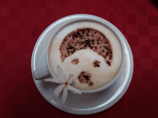 Barbara B&B: Cappuccino personalizzato tutte le mattine