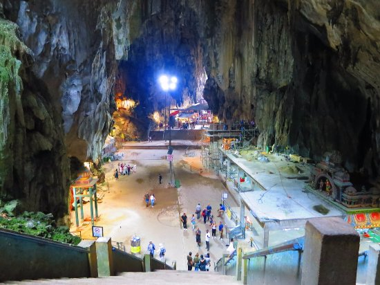 how to get to batu caves by train