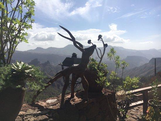 Artenara, Spain: Blick vom Casa Cueva