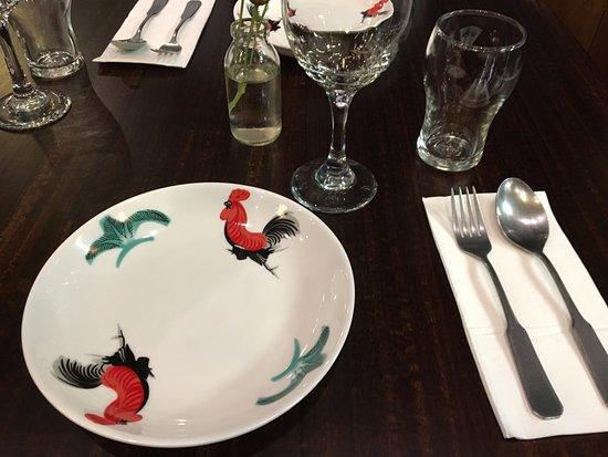 Melati Indonesian Restaurant Table setting & Table setting - Picture of Melati Indonesian Restaurant Camberwell ...