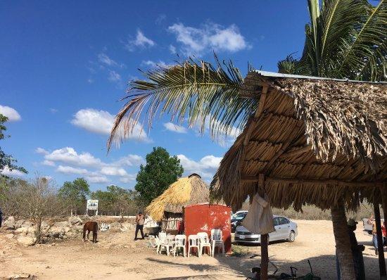 Cuzama, México: at the starting point