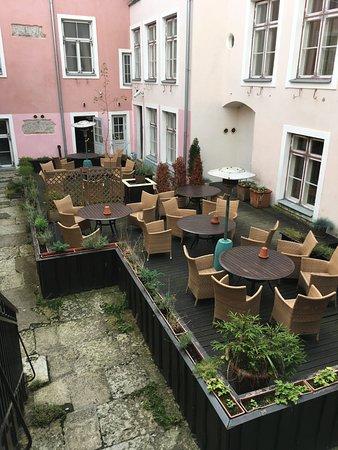 Merchant's House Hotel: merite un peu de jardinage