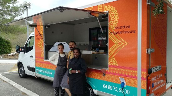 Châteauneuf-Grasse, Francia: Hector's food Truck