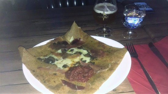 Esperaza, Франция: My delicious evening snack
