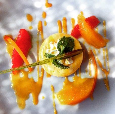 El Fenn: Stunning dessert to end the set lunch time menu