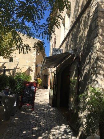 Traumhafte lage das restaurant cote 39 terrasse in seguret for Cote terrasse