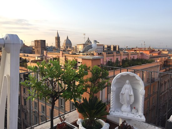 Hotel Torino: Colazione al VII Piano