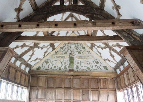 Congleton, UK: ceiling