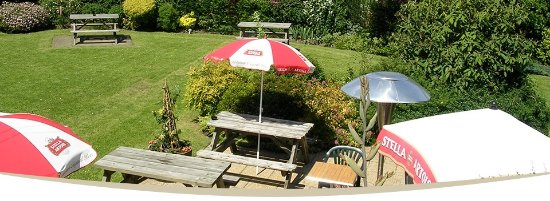 Hutton Rudby, UK: Beer Garden