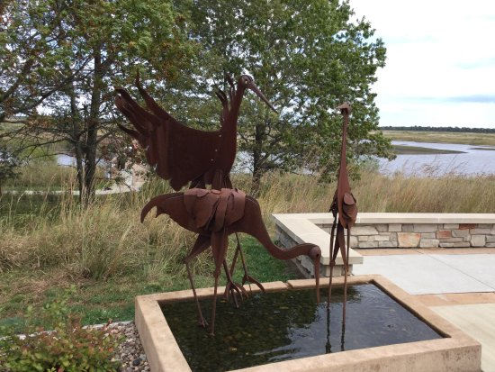 Necedah, Ουισκόνσιν: Behind Visitors Center