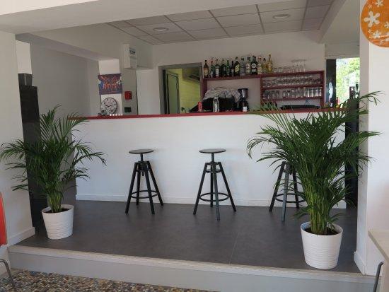 Ceyrat, Francia: Bar du restaurant l'Escale