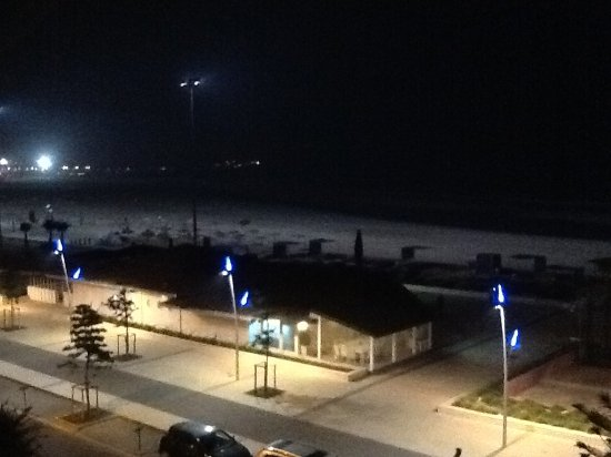 Essaouira Beach: Floodlit beach
