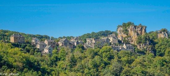 Panorámica Pueblo de Rodelle
