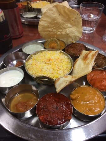 Joondalup, Australia: Meat Thali was sensational ! Decor is cozy and byo... our group of 6 really enjoyed the food.