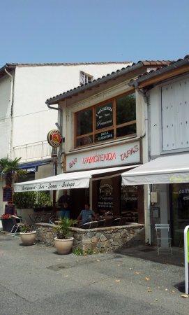 Restaurant la veillee dans saint girons for La rotonde saint girons