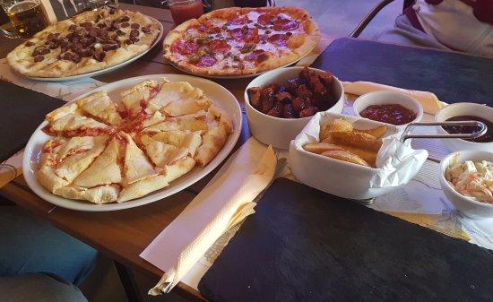 Podgorica (município), Montenegro: Pizzas