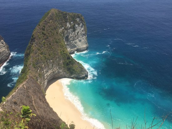 Kelingking Secret Point Beach On Nusa Penida Picture Of Nice Tour