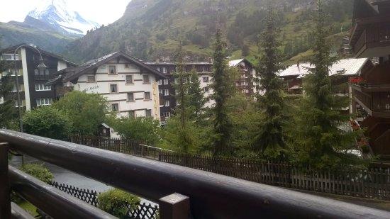 Hotel Artemis Garni: view from balcony