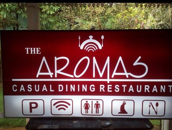 Gampola, Sri Lanka : Aromas Restaurant