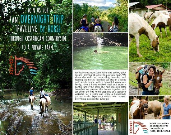Montezuma, كوستاريكا: Overview of the overnight tour!