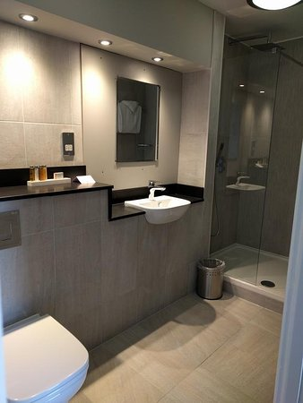 The Hydro Hotel: Lakeview rooms bathroom
