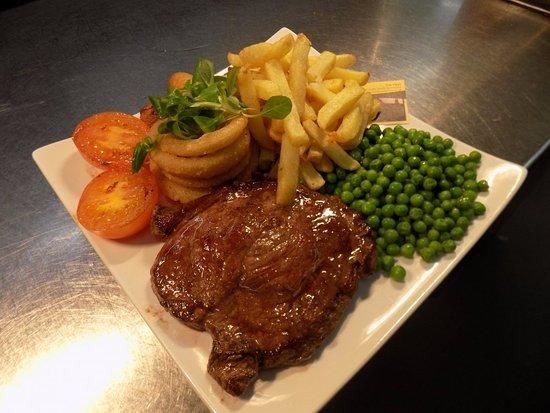 The Keys: Our homemade Steak dish