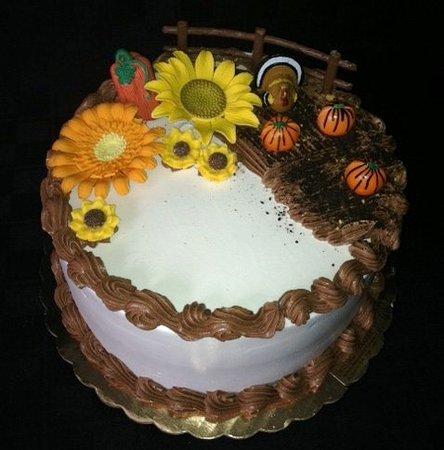 Kingston, NY: fall cake