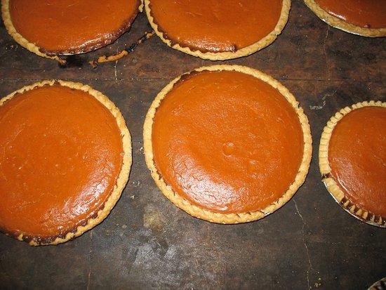 Kingston, NY: yummy pumpkin pies!