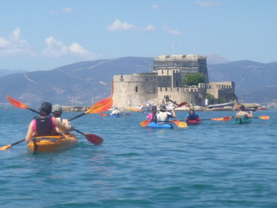 Tribal kayak Argolida kayaking tours since 2012-Nafplio-Mpourtzy