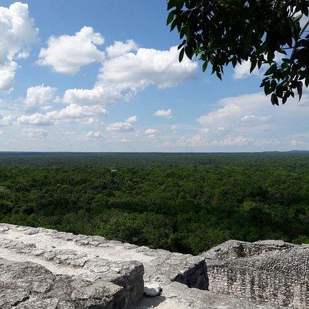 Xpujil Town, Mexico: Calakmul