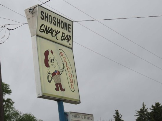 Shoshone, ID: Snack Bar Sign