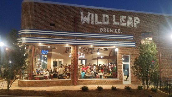 Wild Leap Brew Co. in downtown LaGrange, Georgia