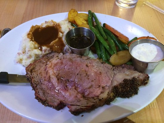 Central City, CO: Club earned $7.77 prime rib dinner