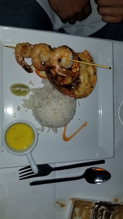 Beaches Ocho Rios Resort & Golf Club: Shrimp and Lobster tail at Neptunes Restaurant