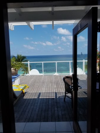 Beaches Ocho Rios Resort & Golf Club: View from our room # 2307
